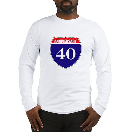 40th Anniversary! Long Sleeve T-Shirt
