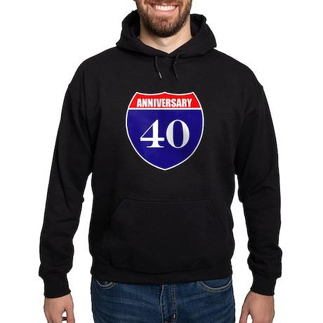 40th Anniversary! Hoodie (dark)