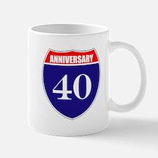 40th Anniversary! Mug
