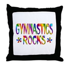 Gymnastics Throw Pillow