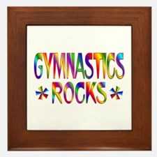 Gymnastics Framed Tile