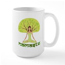 Namaste Tree Mug
