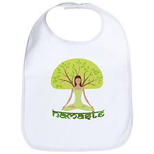Namaste Tree Bib