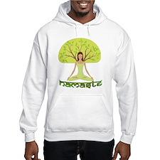 Namaste Tree Hoodie