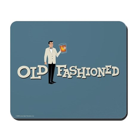 Old Fashioned Mad Men Mousepad
