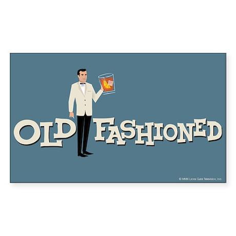 Old Fashioned Mad Men Sticker