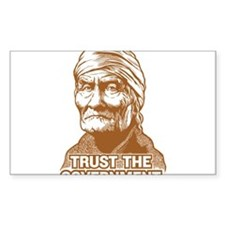 Geronimo Trust Government Decal