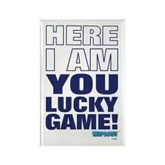 Lucky Game Rectangle Magnet