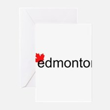 "Edmonton ""hot"" Greeting Cards (Pk of 20)"