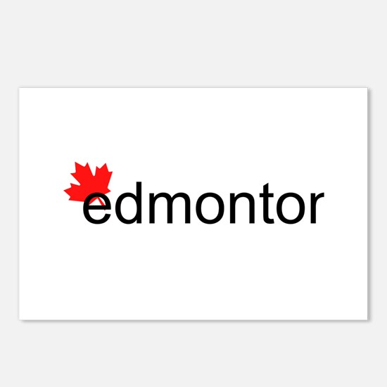 "Edmonton ""hot"" Postcards (Package of 8)"