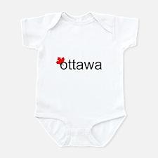 """Ottawa """"hot"""" Infant Bodysuit"""