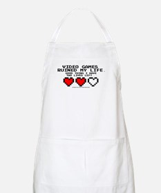 Video Games Ruined My Life Apron