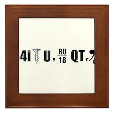 B4i screw U Framed Tile