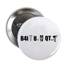"B4i screw U 2.25"" Button"