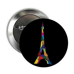 "Eiffel Tower 2.25"" Button (10 pack)"