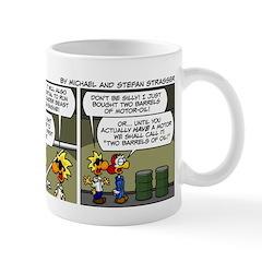 0464 - A big step for the... Mug