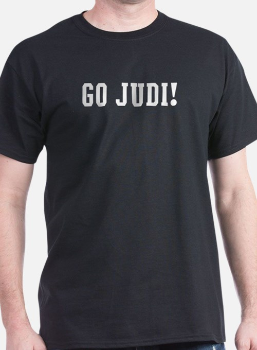 Go Judi Black T-Shirt