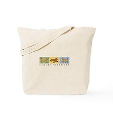 Versatile Golden Tote Bag