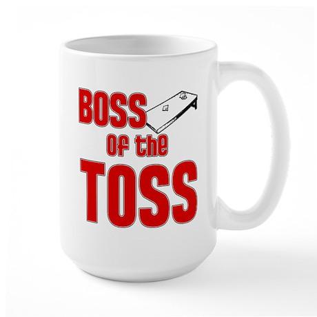 Boss of the Toss Large Mug