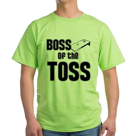 Boss of the Toss Green T-Shirt