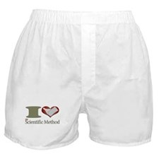 I Heart the Scientific Method Boxer Shorts