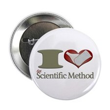 "I Heart the Scientific Method 2.25"" Button"