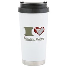 I Heart the Scientific Method Travel Mug
