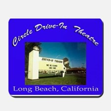 Circle Drive-In Theatre Mousepad