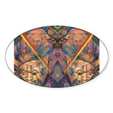 African Heritage Oval Decal