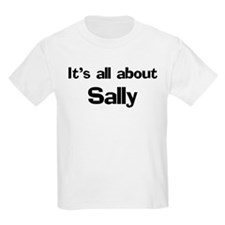 It's all about Sally Kids T-Shirt