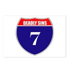 7 Deadly Sins Postcards (Package of 8)