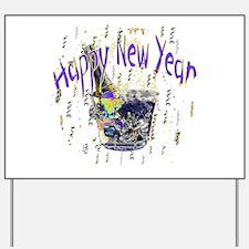 New years Yard Sign