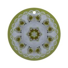 Orchid Kaleidoscope Ornament (Round)