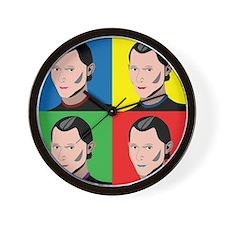 Niccolo Machiavelli Wall Clock