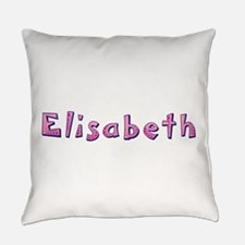 Elisabeth Pink Giraffe Everyday Pillow