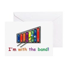 I'm with the band Greeting Card