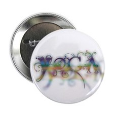 """yoga flower 2.25"""" Button (10 pack)"""