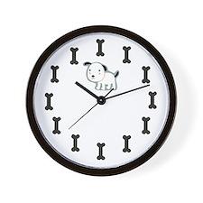 Dog Bone Wall Clock