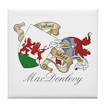 MacDonlevy Sept Tile Coaster