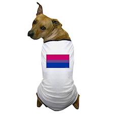 Bi-Sexual Pride Flag Dog T-Shirt