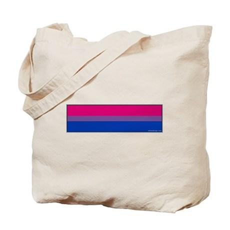 Bi-Sexual Pride Flag Tote Bag