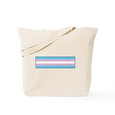 Transgender Pride Flag Tote Bag