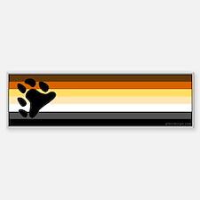 Bear Pride Flag Bumper Bumper Bumper Sticker