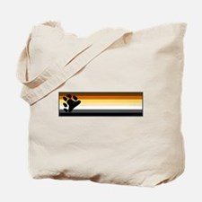 Bear Pride Flag Tote Bag