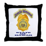 Hawaii Office of Narcotics En Throw Pillow