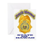 Hawaii Office of Narcotics En Greeting Cards (Pk o
