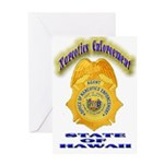 Hawaii Office of Narcotics En Greeting Card