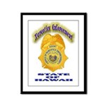 Hawaii Office of Narcotics En Framed Panel Print