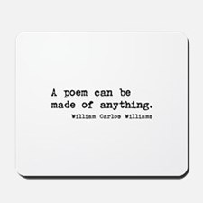 poetry quotation Mousepad
