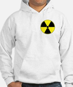 Yellow Radiation Symbol Hoodie